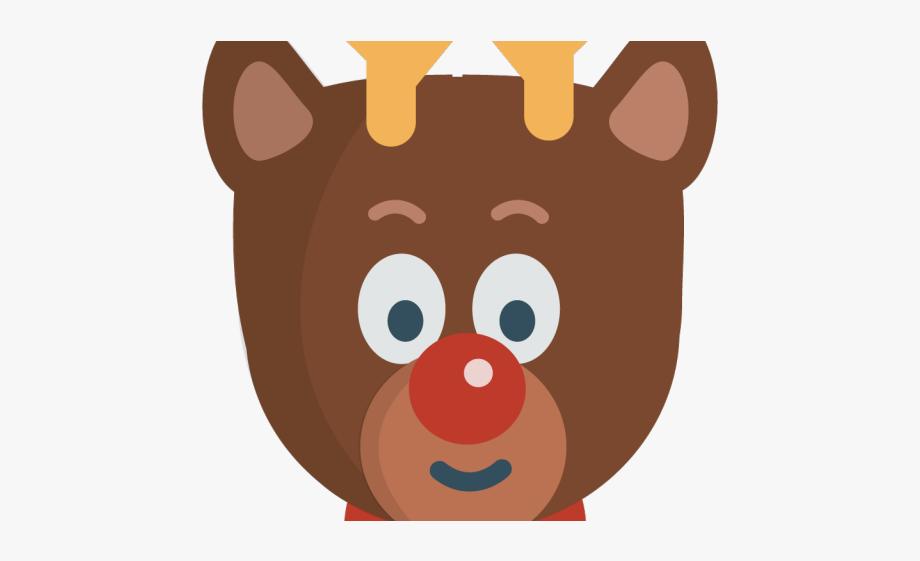 Christmas Reindeer Clipart.
