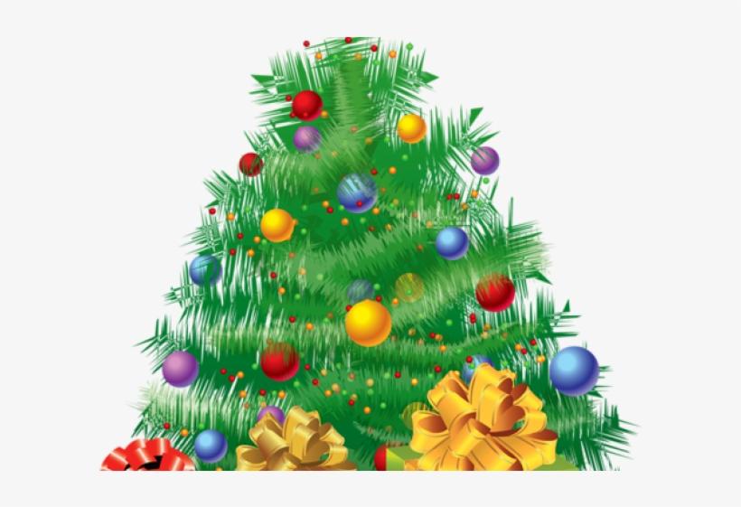 Border Clipart Christmas Tree.