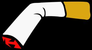 Broken Cigarette Clip Art at Clker.com.