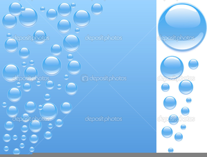 Animated Underwater Bubbles Clipart.
