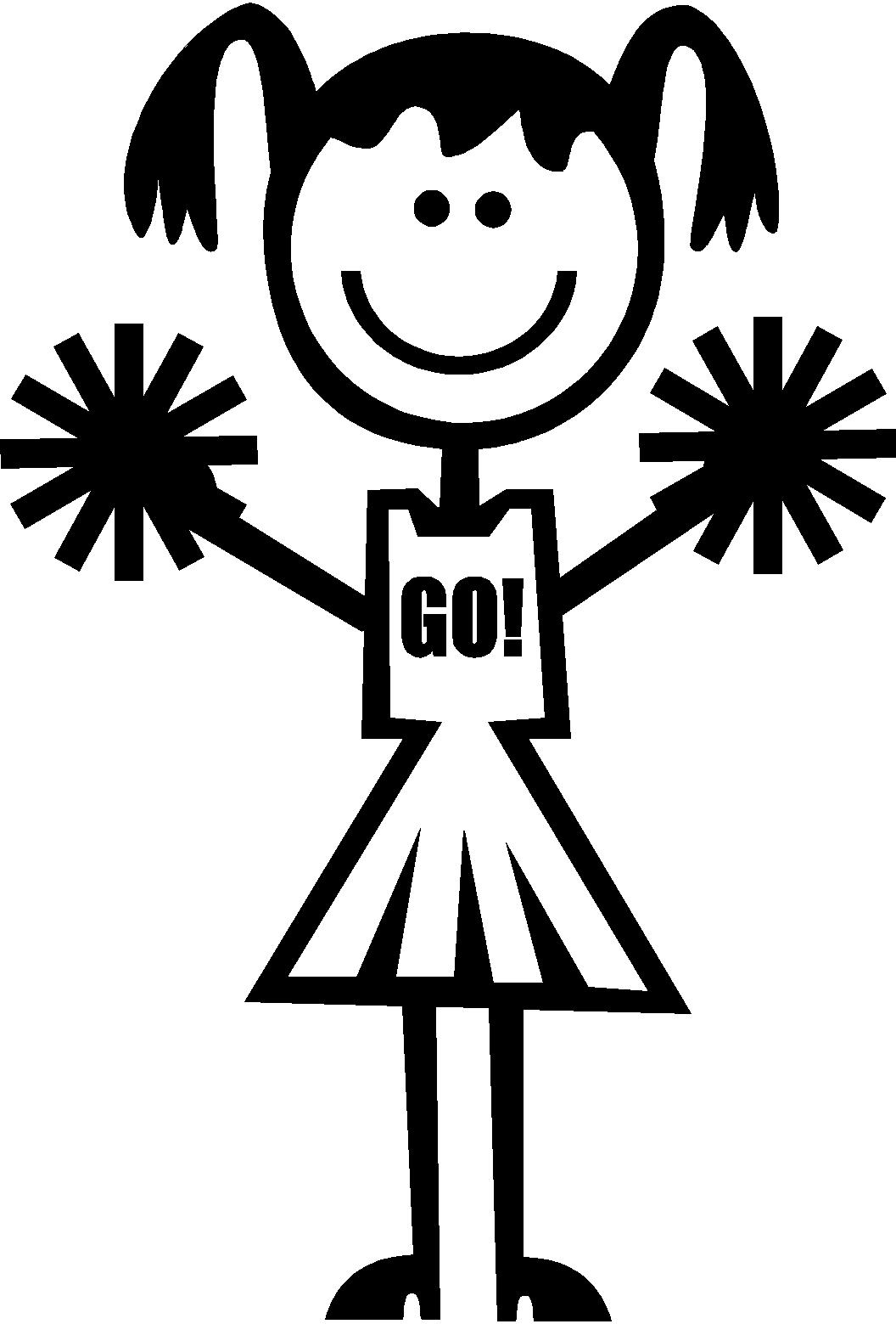Cheerleader Clipart.