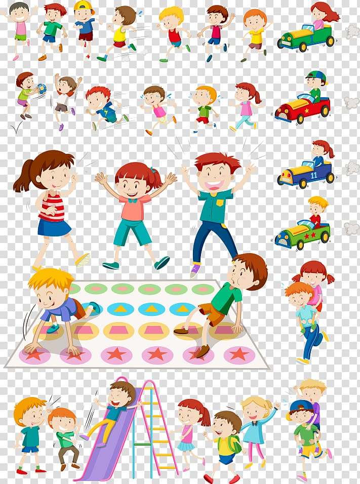 Children\'s animated artwork , Child Play Illustration, kids.