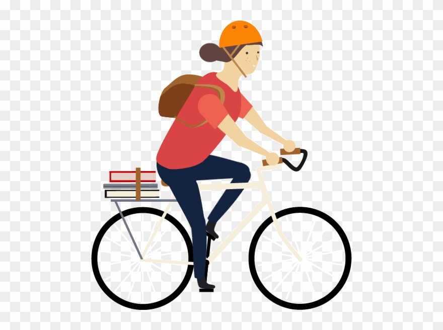 Cycling Clipart Animation.