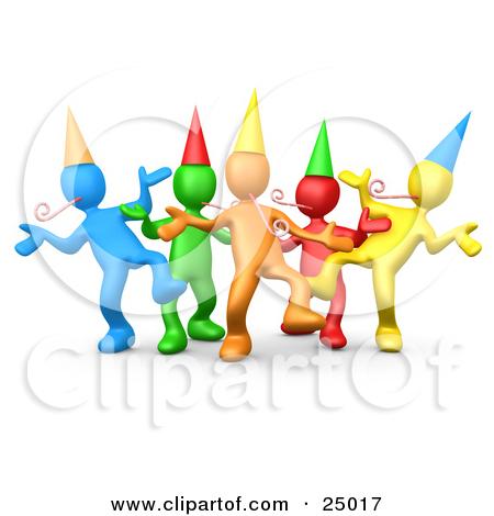 Animated Celebration Clipart.