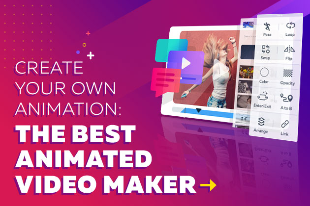 The Best Animated Video Maker: Create Your Own Animation.