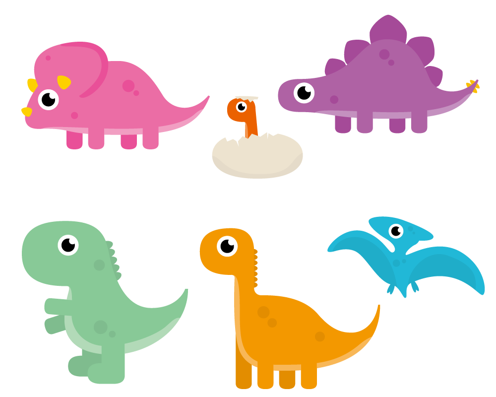 Dinosaur Cartoon Animation Clip art.