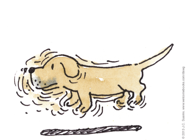 Showing post & media for Wagging tail cartoon.