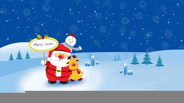Animated Christmas Lights Clipart Free.