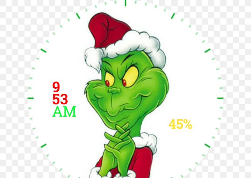 How The Grinch Stole Christmas! Clip Art Image, PNG.