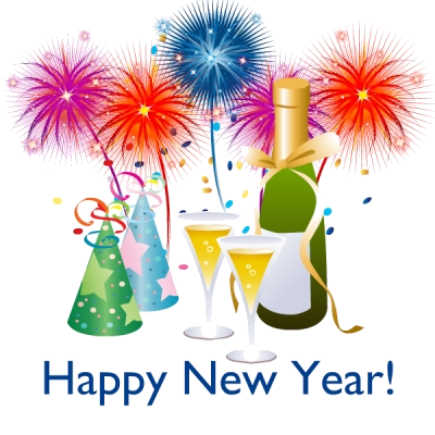 Happy New Year Clipart Animated Images For Kids Transparent Png.