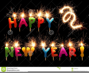 Free Animated Happy New Year Clipart.