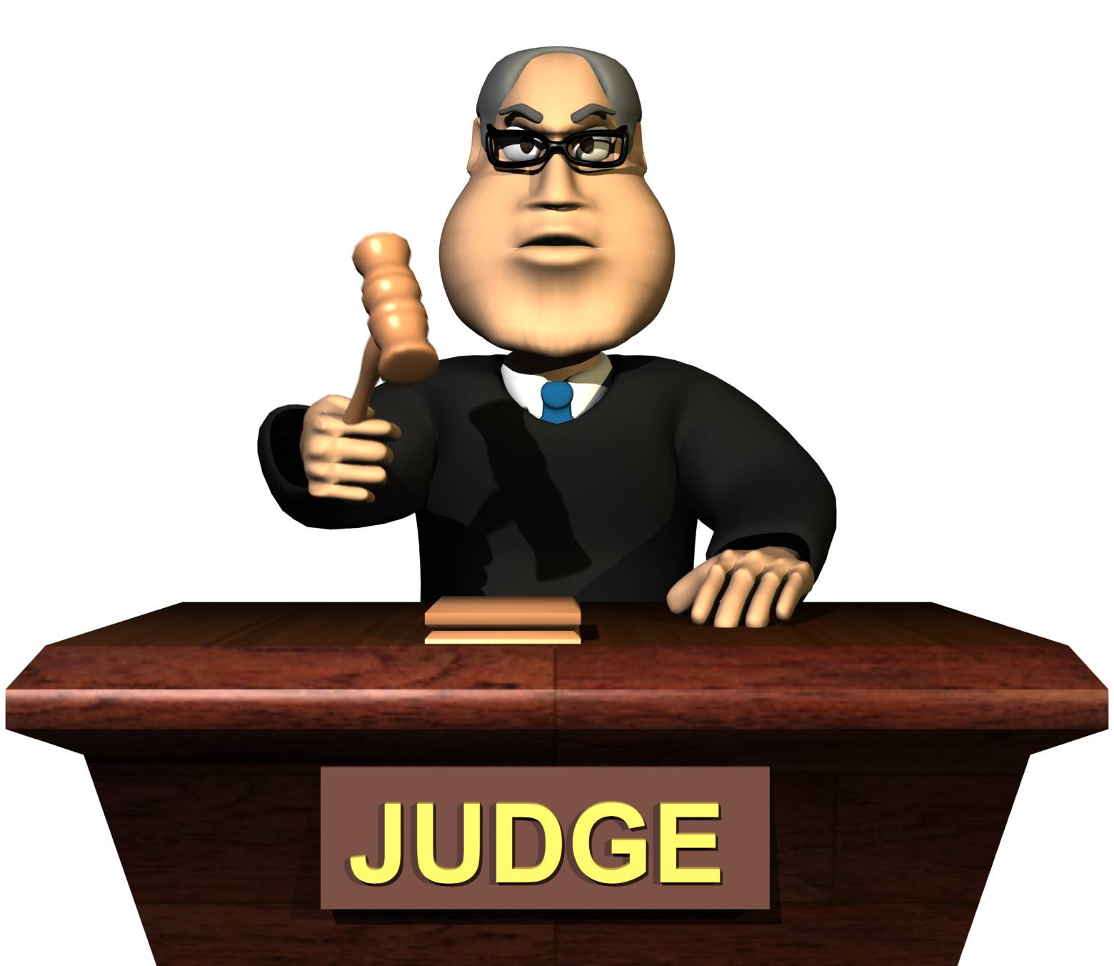 Courtroom Judge Clipart.
