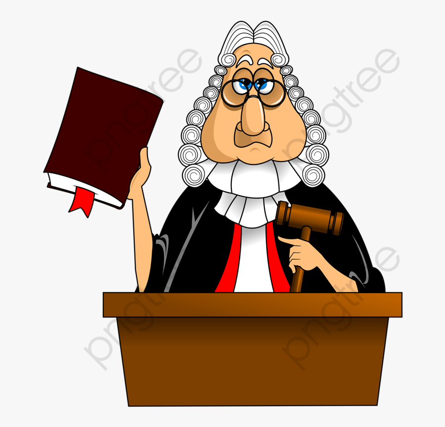 Court Judge Clipart.