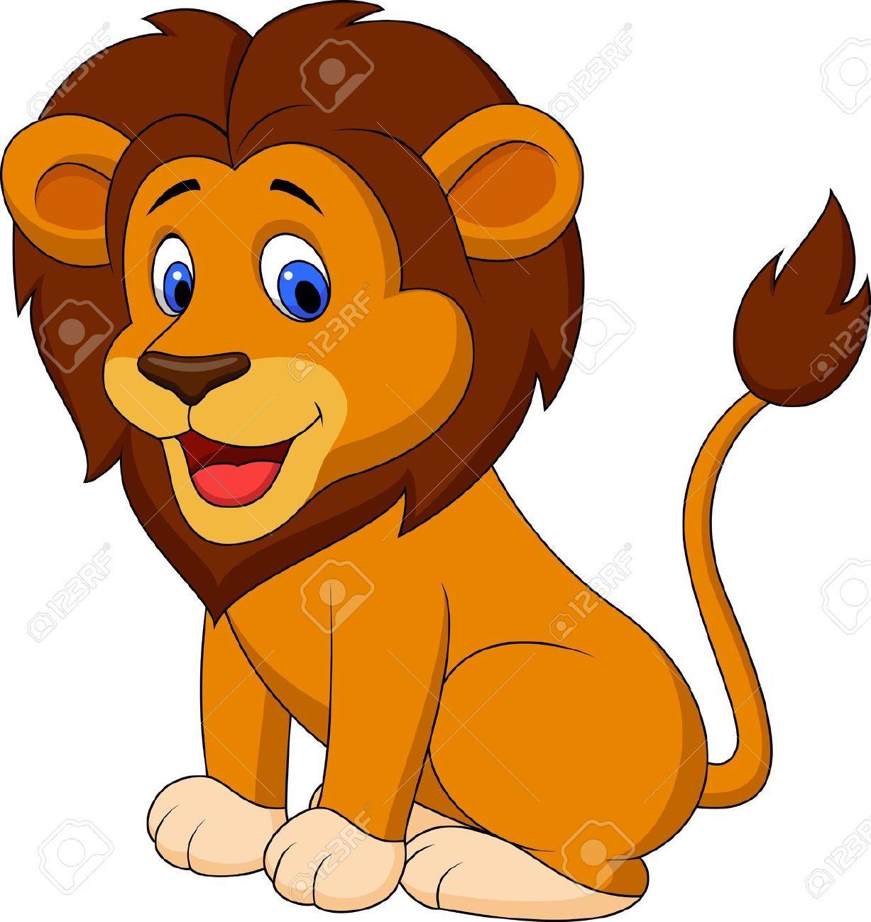 Lion Goofy Clipart #1.