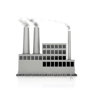 Factory Smoking.