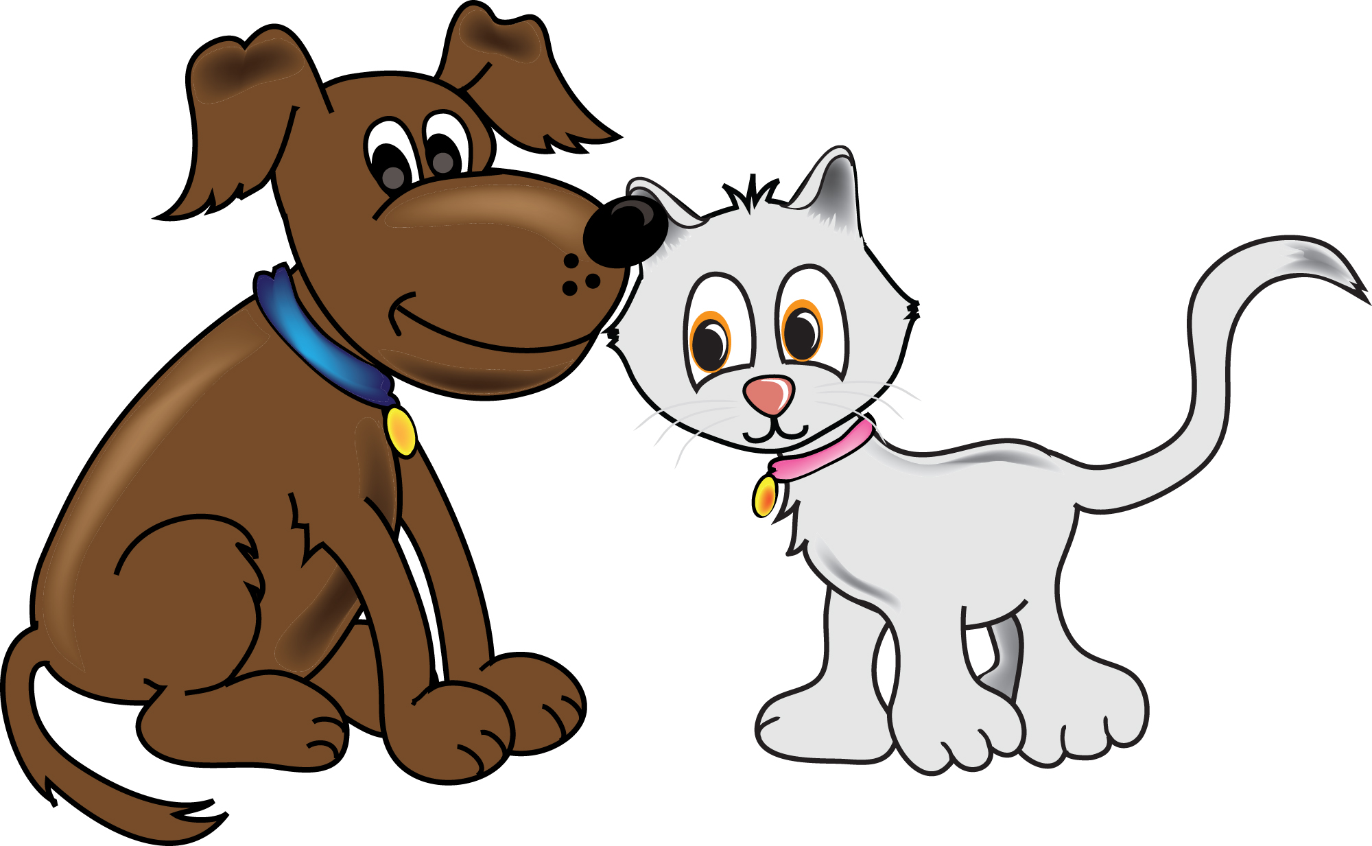 Animated clipart meeting of pets clipart images gallery for.