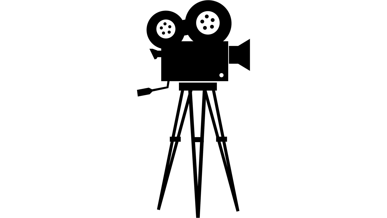 old filmmaking camera.