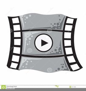 Animated Movie Camera Clipart.