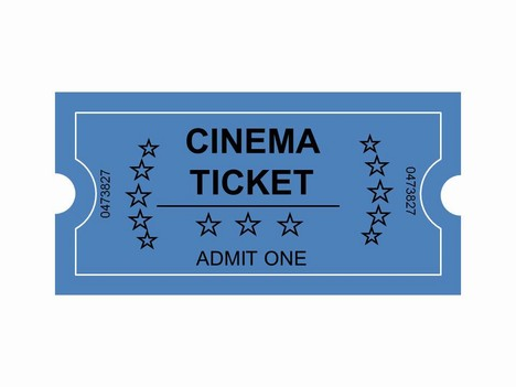 Cinema tickets clip art.