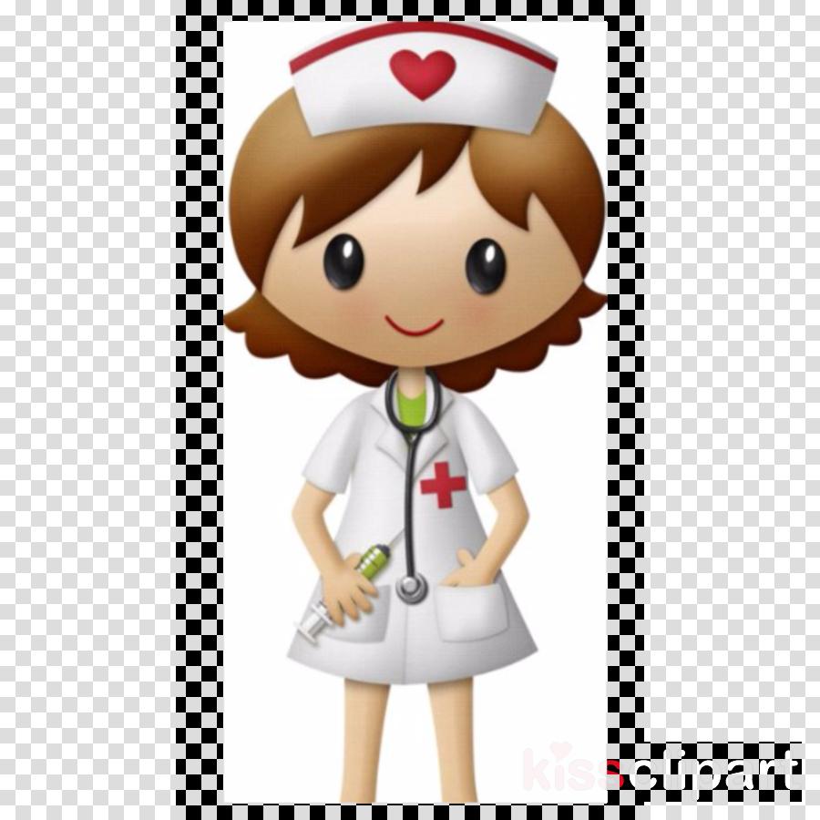 Nurse Cartoon clipart.