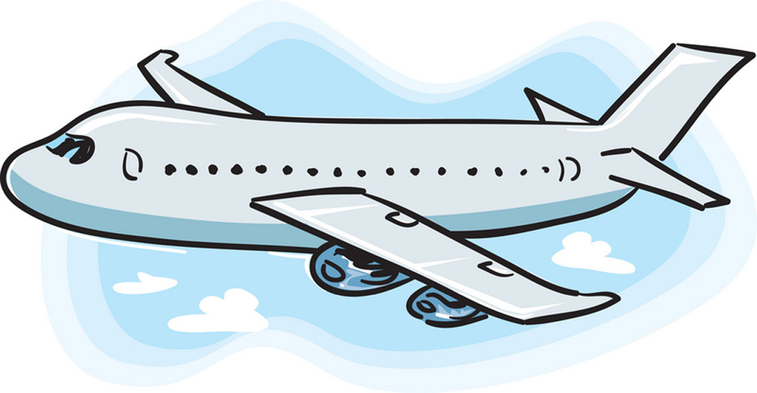 Airplane Clipart Animation.