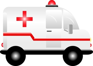 Ambulance graphics and animated ambulance clipart image 2.
