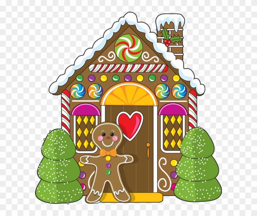 Gingerbread House Clipart Gingerbread House Jpg Transparent.