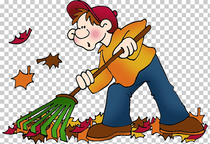 Rake Leaf Autumn , s Of Autumn Season PNG clipart.