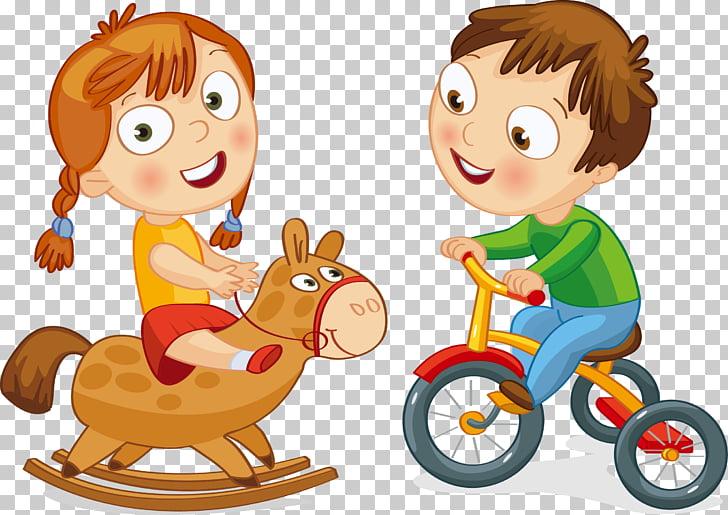Bicycle Cycling Motorized tricycle Boy , Trojan bike cartoon.