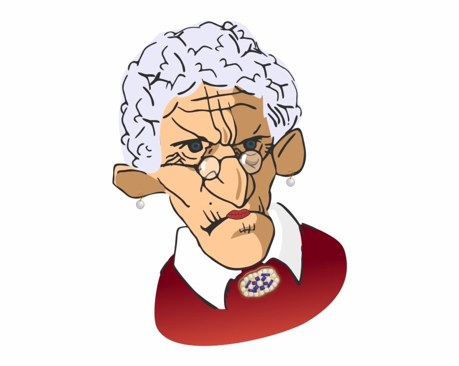 Free Old Woman Photos Cartoon Grumpy Old Man.