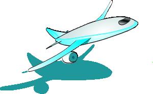 Plane Taking Off Clip Art at Clker.com.