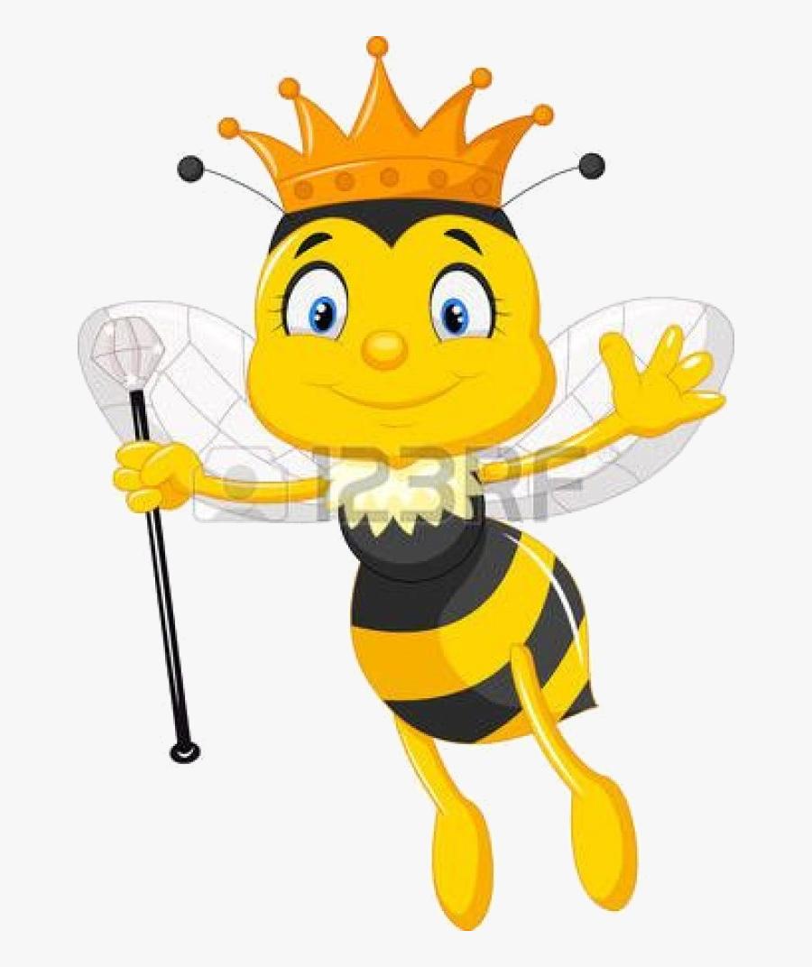 Bee Queen Honey Clipart Www Transparent Png.