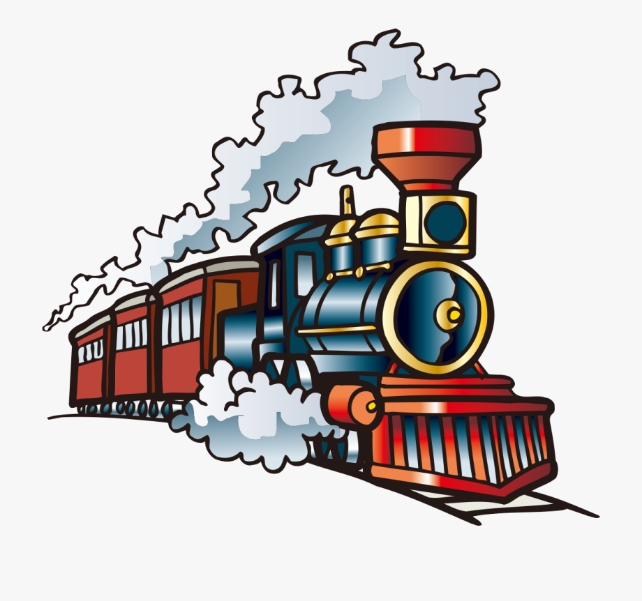 Steam Engine Train Clipart.