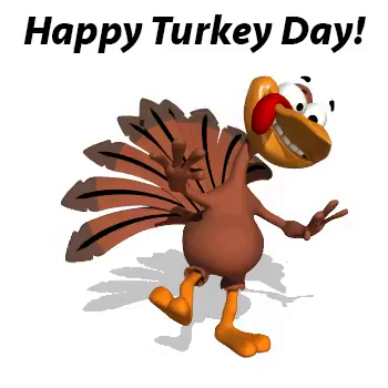 Animated Turkey GIFs.