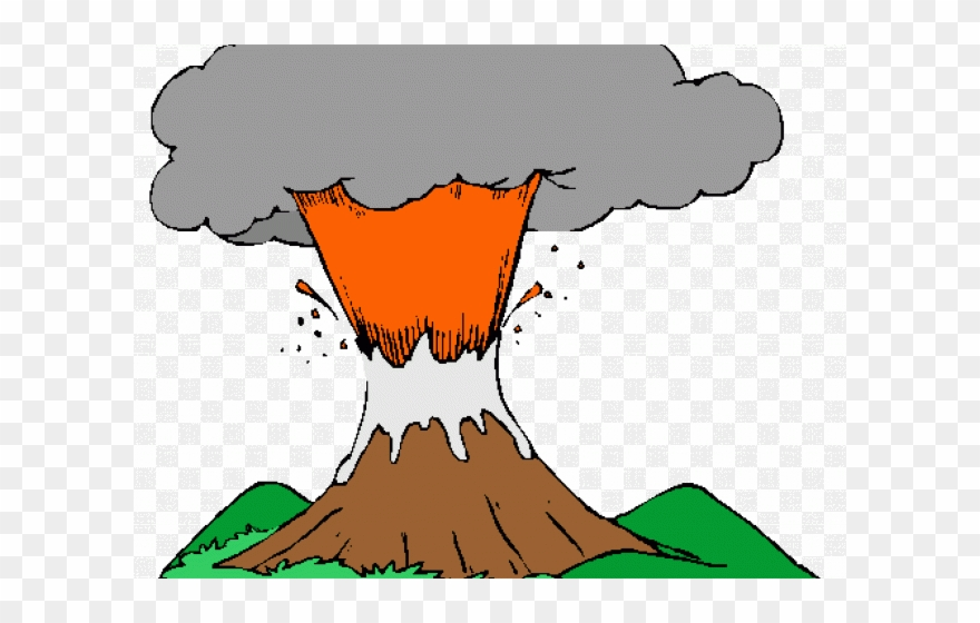 Volcanic Eruption Animated Png Clipart (#1236471).