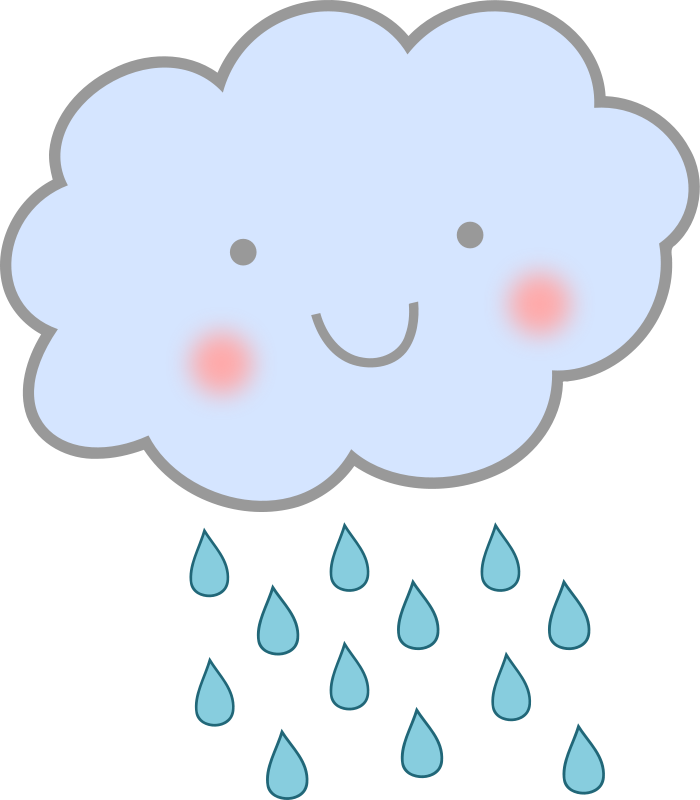 Animated Rain Clouds.