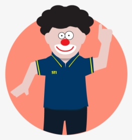 Coach Clown.