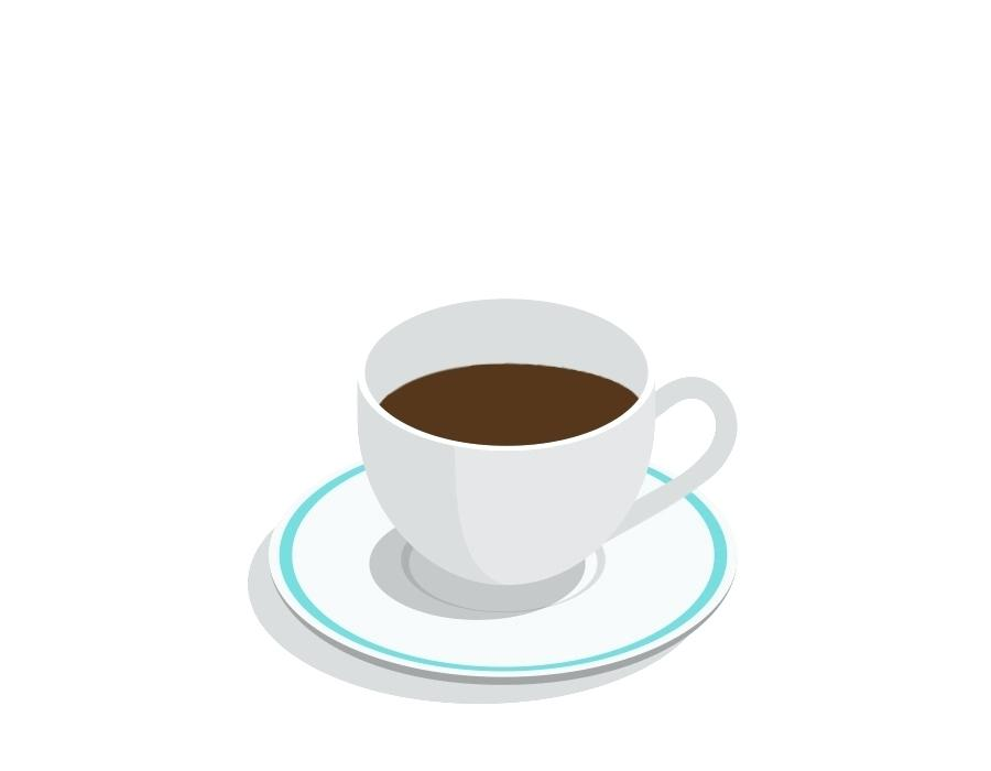 Animated Coffe Cup Coffee Cafe Animation Free Download Tableware.