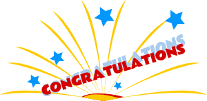 Congratulations Clipart Animated Free Transparent Png 2.