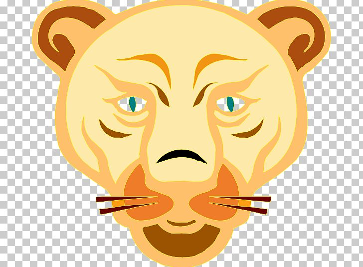 Lion Cougar Cartoon PNG, Clipart, Animation, Art, Big Cats.