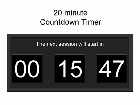 Clipart Animated Gif Clock Countdown.