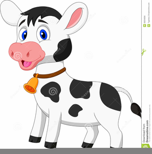 Free Animated Cow Clipart.