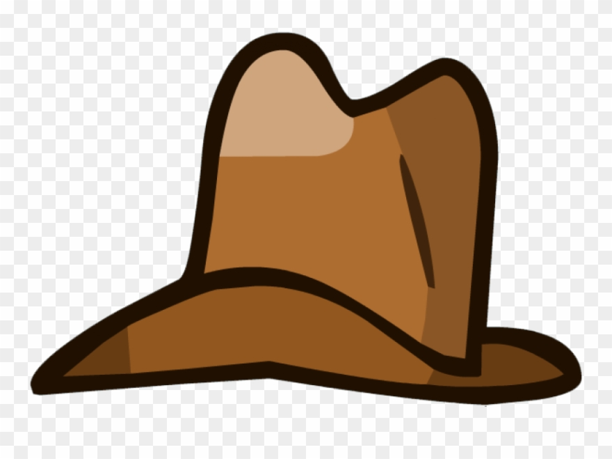 Cowboy Clipart Brown Object.