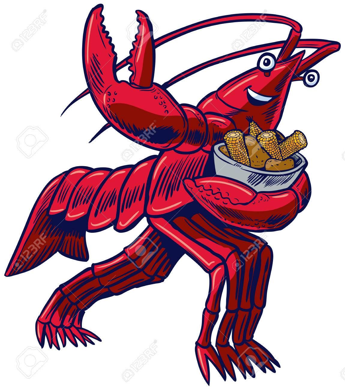 37 Crawfish free clipart.
