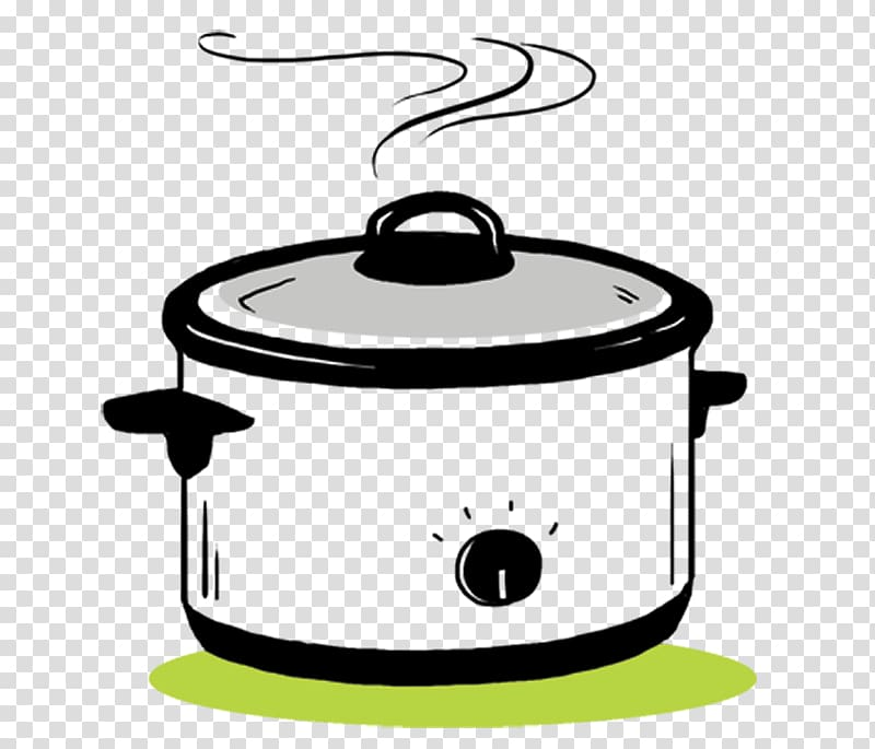 Slow Cooker transparent background PNG cliparts free.