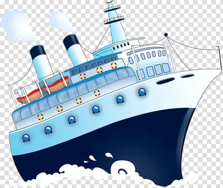 Ship , Chavanga Cruise ship Watercraft Cartoon, Cartoon.