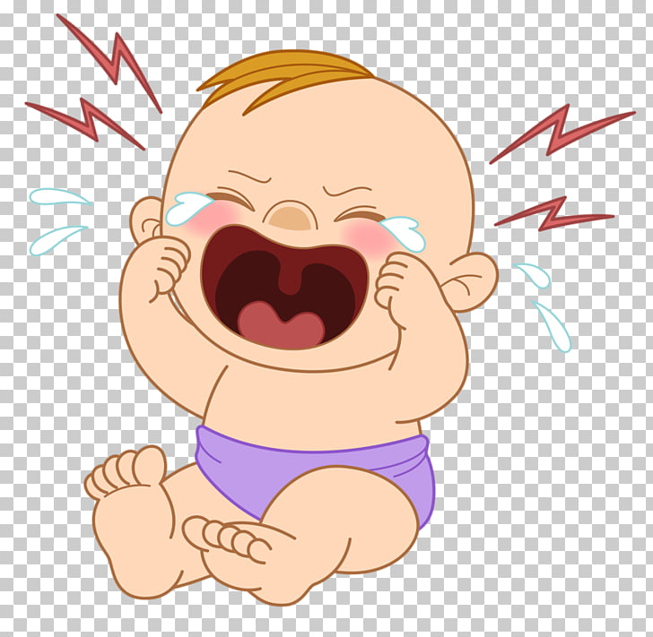 Crying , Aoao crying child, crying baby illustration PNG.