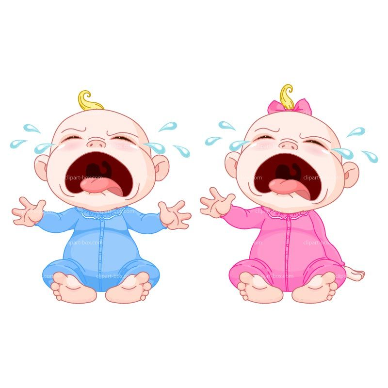 Crying Baby Clipart Free.