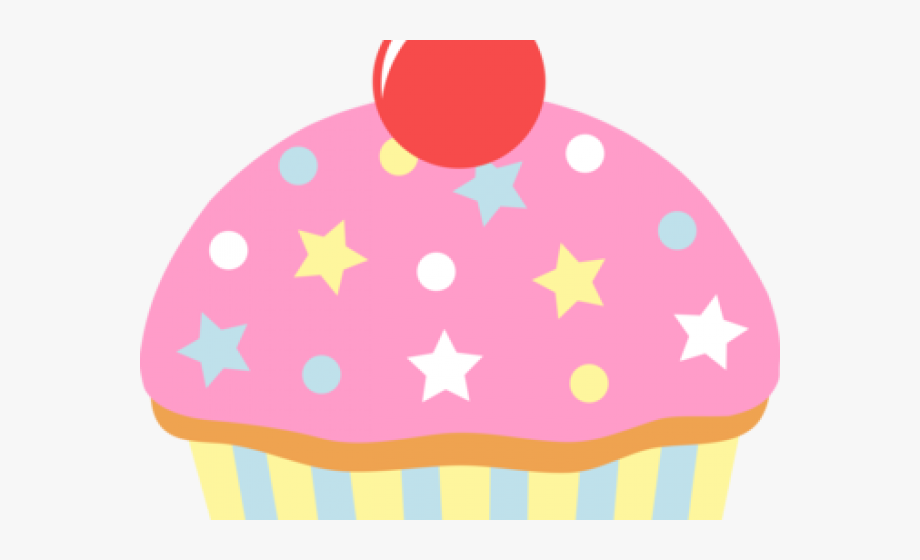 Vanilla Cupcake Clipart Animated.