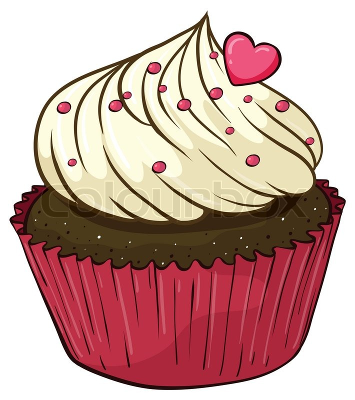 Animated Cupcake Clipart.